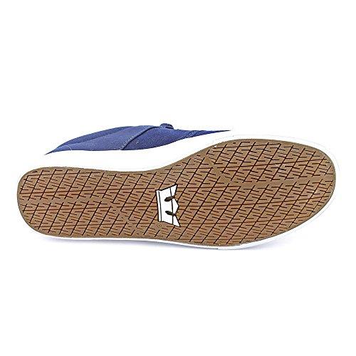 Supra - Zapatillas de skateboarding para hombre azul azul marino azul - azul marino