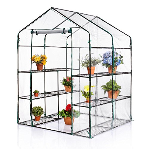 Walk-In Greenhouse (56.25″ L x 57.5″ W x 76.75″ H) Review