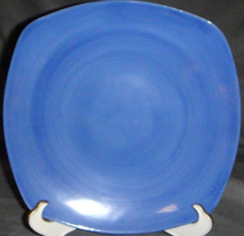 Limoges Jammet Seignolles Saga Sky Blue Square Dessert Plate