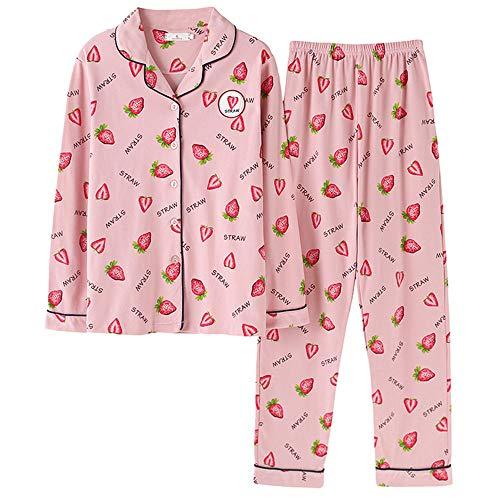 In Notte Da Lunghe Primaverile Pigiama Pantaloni Homewear Maniche A Autunnale E Pigiama Donna Addormentato Meaeo Pigiama Vestito Photo Color Pigiameria Cotone qxETnFpp