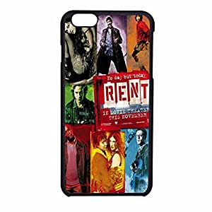 Rent Broadway Musical 1 iPhone 6 Case / iPhone 6s Case (Black Plastic)
