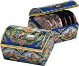Wicklein Music Tin Elisen with 2 Sorts of Lebkuchen
