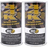 BG 44K Fuel System Cleaner Enhancer 11 Oz (Pack of 2)