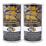 2 Pack Bg 44k Fuel System Cleaner Power Enhancer 11 Oz Cans