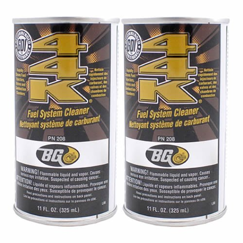2 Pack Bg 44k Fuel System Cleaner Power Enhancer 11 Oz Cans          (Best Fuel Injector Cleaner Reviews)