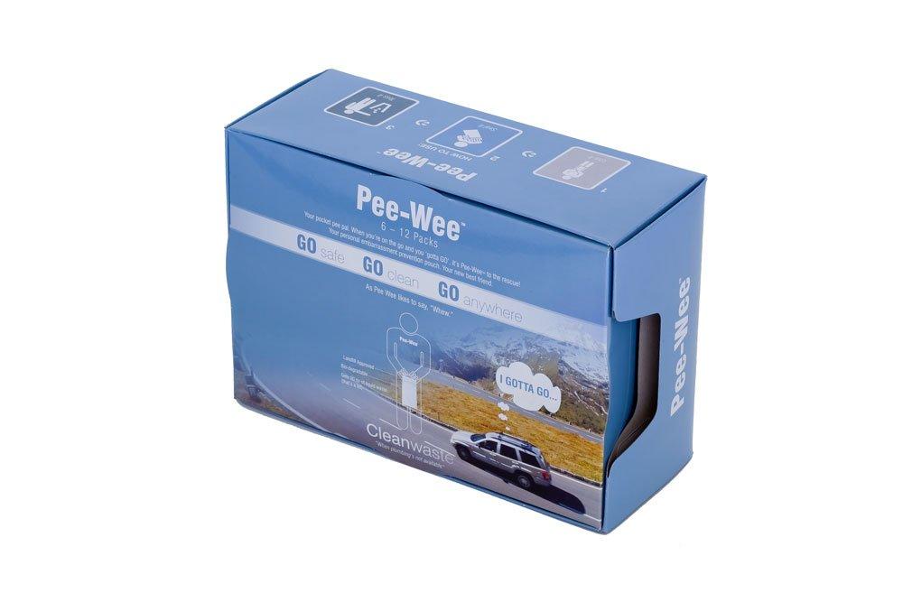 Cleanwaste Pee-Wee Unisex Urine Bags - 6 12 Packs by Cleanwaste (Image #5)