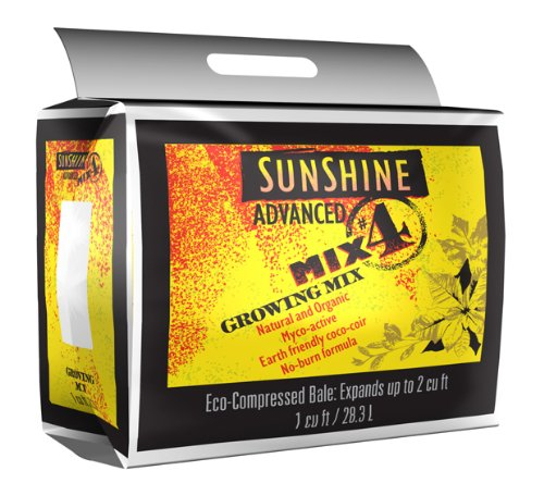 SUNGRO Horticulture Sugradv1.0 1-cubic Feet Advanced 4 Sunshine Mix For Plants