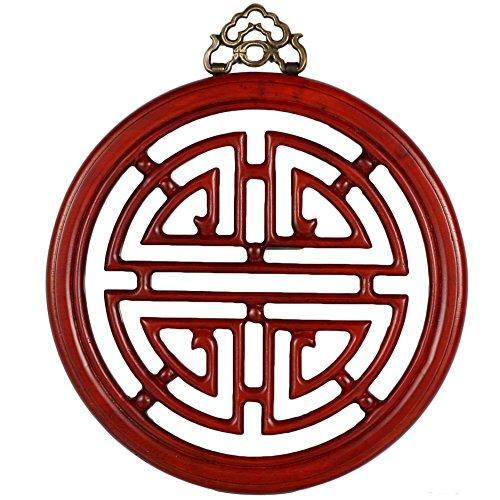 Oriental Furniture Long Life Plaque – Honey
