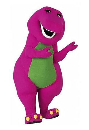Amazon.com : Kooplus Barney Dinosaur Mascot Costume Halloween ...