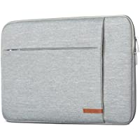 Laptop Sleeve 13 - 13.3 Inch Grey - CASEZA London Notebook Bag for MacBook Air 13 MacBook Pro 13 & Surface Book and many others - Water Resistant 13 / 13.3 Ultrabook Case with Two Pockets