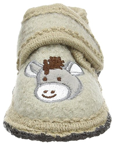 SterntalerHausschuh - pantuflas Bebé-Niñas Beige - Beige (sand / 913)
