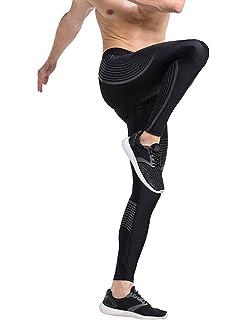 61268e8cb8c5 JIMMY DESIGN Men s Printed Compression Tights Sport Leggings for  Autumn Winter