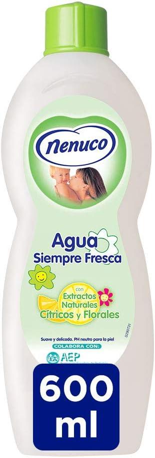 Nenuco Agua Siempre Fresca con extractos naturales cítricos y ...
