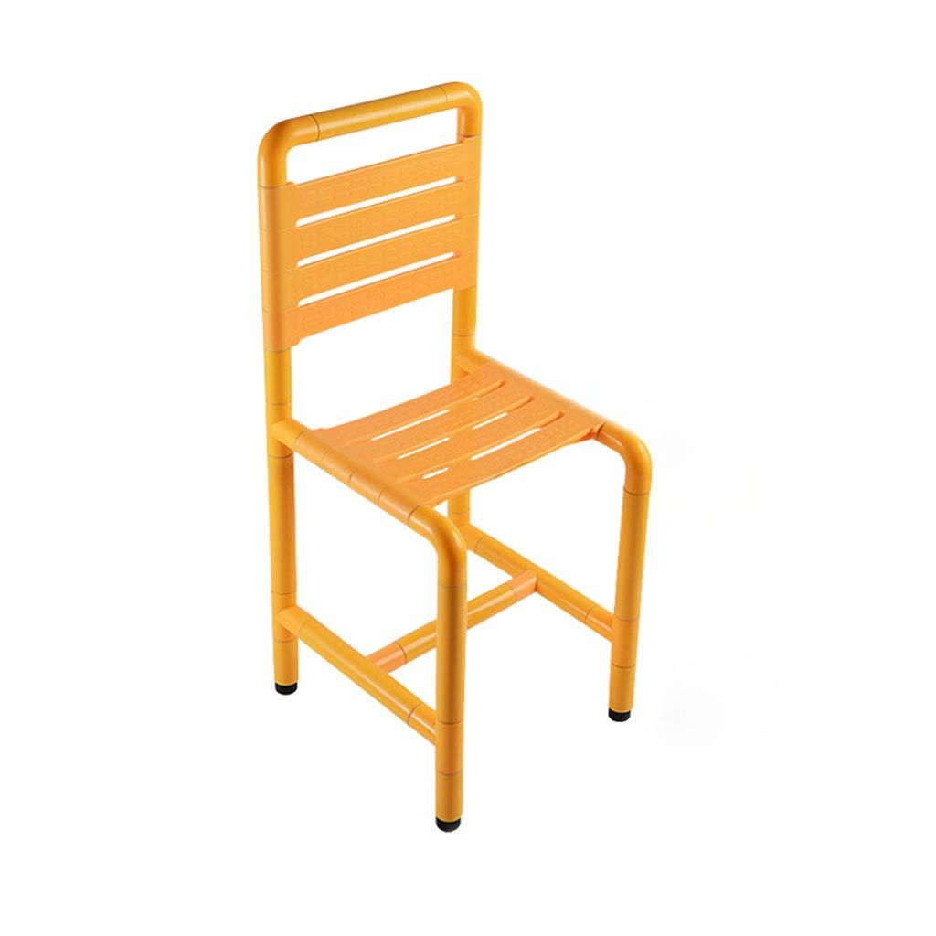 予約販売 バススツール座って高齢者のためのトイレの椅子を無効にするステンレス鋼のベンチアンチスリップシャワーチェアシートベンチ With (色 back : B07G74J3Y3 With back) With back B07G74J3Y3, 榛名町:6d87a965 --- server1.ecomustangtreks.com
