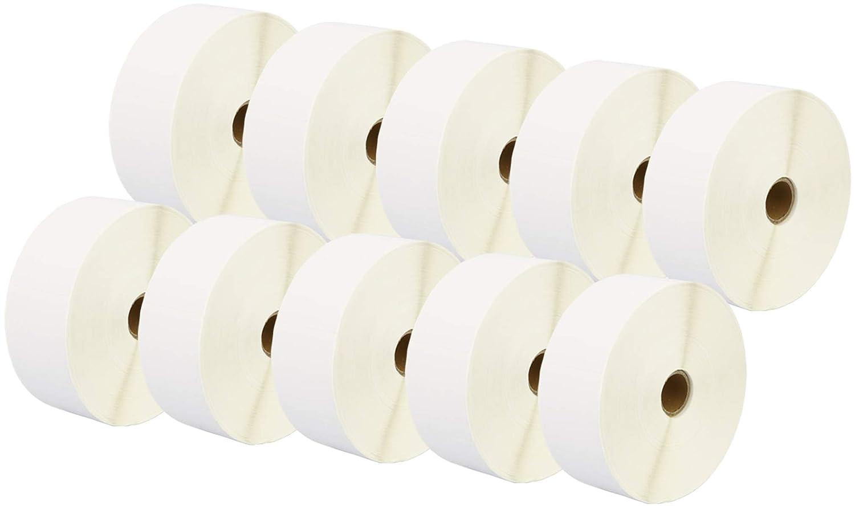 Printing Saver 50 x 52 mm 5 Thermodirekt-Etiketten (2000 Stück Rolle, weiß) kompatibel für Zebra Toshiba Citizen Sato Honeywell Intermec Datamax CAB Eltron Godex Orion UPS Wasp Etikettendrucker B07NZ7NJY2    | Billig