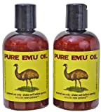 Emu Oil Premium Golden - Set of Two - 4 fl.oz. each