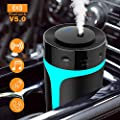 Bluetooth Fm Transmitter For Car With Usb Portable Car Humidifier Wireless Fm Transmitter Radio Adapter Car Kit With Hands Free Calling Usb Charging Ports U Disk Tf Card Mp3 Music Player 7 Color 300ml