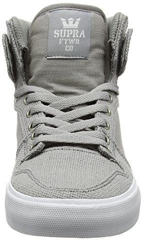 Supra Vaider Lc Sneaker Gris - Blanc / Gris
