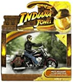MUTT WILLIAMS & MOTORCYCLE Indiana Jones and the Kingdom of the Crystal Skull 2008 Deluxe Action Figure Set
