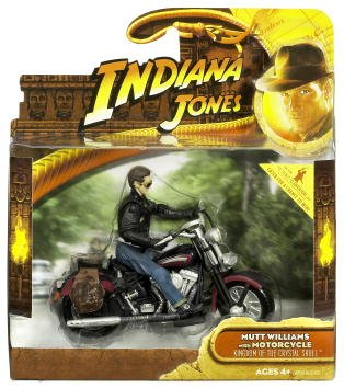 (Indiana Jones MUTT WILLIAMS & MOTORCYCLE and the Kingdom of the Crystal Skull 2008 Deluxe Action Figure)
