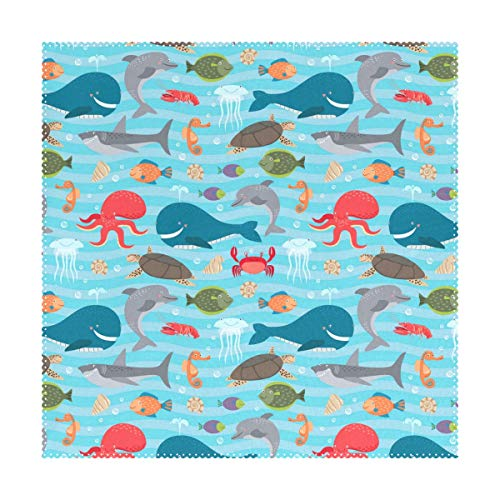 Verne Lyly Lovely Seahorse of The World Placemats