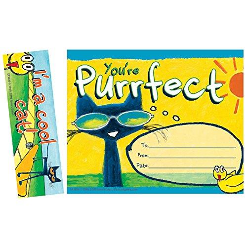 Edupress Pete the Cat You're Purrfect Bookmark Awards - Awards Edupress