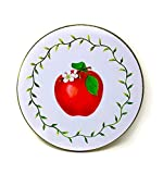 apple stove burner - Kitchen Burners Electric Covers Stove Top Decorative Set of 4 (Red Apple)