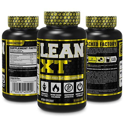 Lean Xt Non Stimulant Fat Burner Weight Loss Supplement Appetite