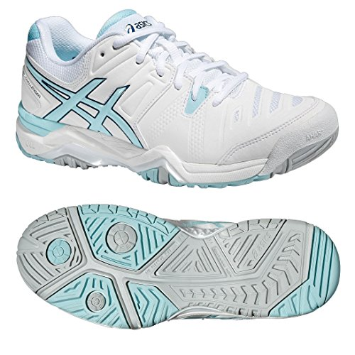 Tennis 10 Asics AW16 Gel Women's Shoes White Challenger pCAw8