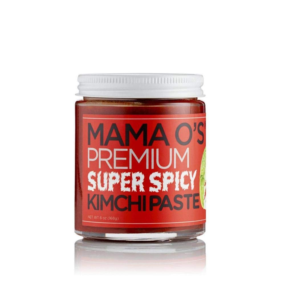MAMA O`S Super Spicy Kimchi Paste - 6 Fl Oz | Pack of 6
