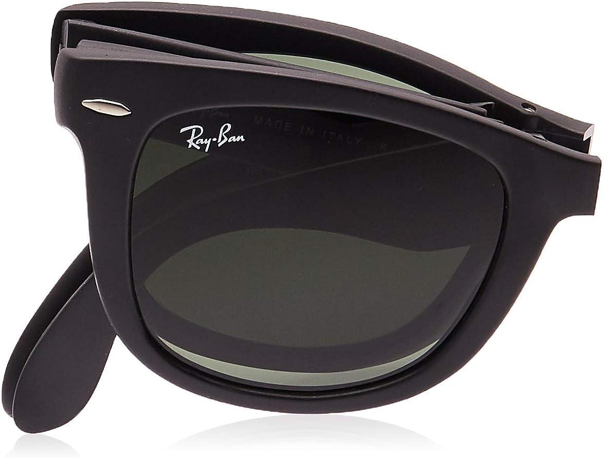 Ray-Ban Folding Wayfarer Gafas de sol, Black, 51 para Hombre: Amazon.es: Ropa y accesorios