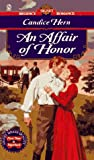 An Affair of Honor, Candice Hern, 0451186265