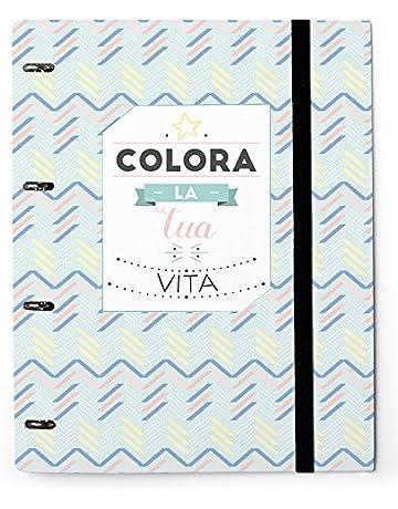 Grupo Erik Editores Carpeta 4 Anillas Troquelada Premium Amelie Ita