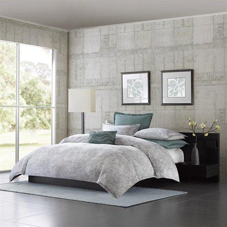Metropolitan Home Marble Comforter Set, King, Grey