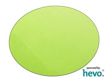 Teppich rund grün  Amazon.de: Romeo grün HEVO ® Teppich | Kinderteppich ...