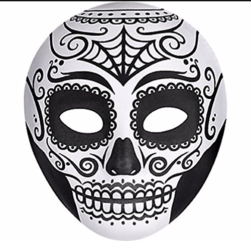 Day Of The Dead Face Mask (Day of The Dead Face Mask)