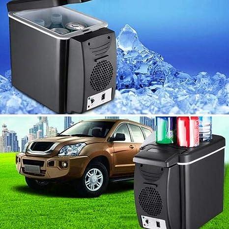 12V 6L Refrigerador Congelador Calentador Mini Coche Congelador ...