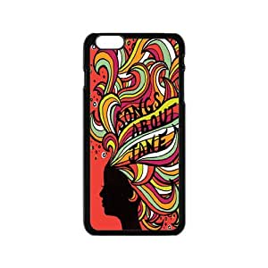"""Custom Martoon 5 Quotes Snap On Protection Case Cover For iPhone 6 4.7"""""""