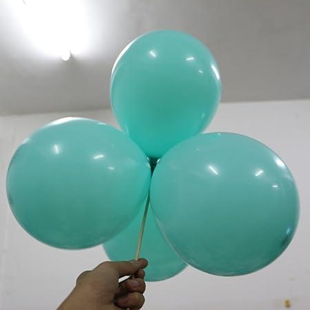 Tiffany Blue Balloon 100pcs Lot 10 Inch Round Decorative Balloons Wedding Decorations Ball Baby Birthday