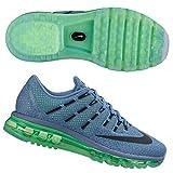 Nike Women's Wmns Air Max 2016, OCEAN FOG/BLACK-VLTG GREEN-BL GREY, 8 US