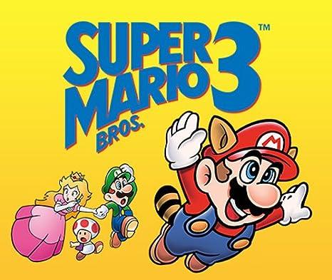 Amazon Com Super Mario Bros 3 3ds Digital Code Video Games