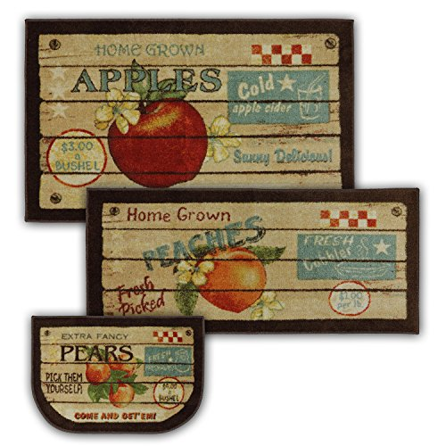 Mohawk Home New Wave Fruit Crate Printed Rug, Set, Multi