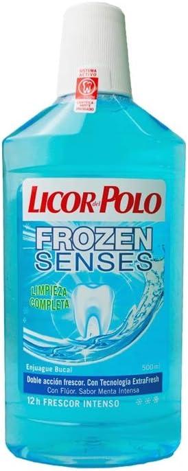 Licor del Polo Enjuague bucal Frozen Senses - 6 x 500 ml, Total ...