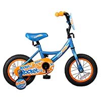 JOYSTAR 12 inch Kids Bike for 2 3 4 Years Old Boys, Toddler Bike with Training Wheels and Full-Cover Chain Guard, Blue