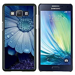 """Be-Star Único Patrón Plástico Duro Fundas Cover Cubre Hard Case Cover Para Samsung Galaxy A5 / SM-A500 ( Blue Mist naturaleza de la flor de belleza lindo"""" )"""