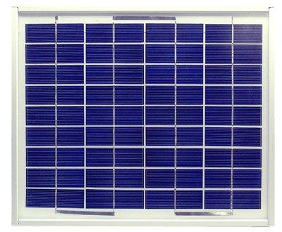 Mono-crystalline Solar Panel – 12Volt / 5Watts