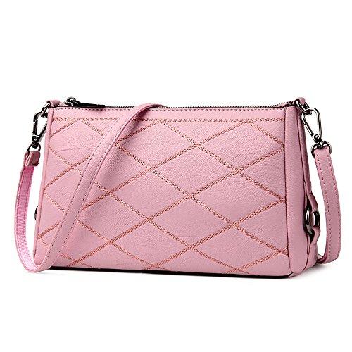 Sac Nouveau D'Âge Dames À D'Hiver Rose Sac Bandoulière Nouveau Moyen Pink Meaeo Sac Main Sac Style d5wRCdHgq
