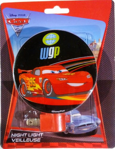Disney Pixar Cars 2 Night Light World Grand Prix  Series Lig