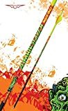 Black Eagle Zombie Slayer Fletched Carbon Hunting Arrows - 12 Pack (350/.003 Crested)