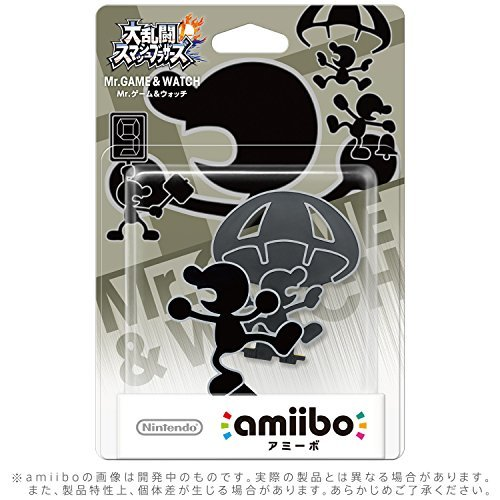 Mr.Game & Watch amiibo - Japan Import (Super Smash Bros Series) [parallel import goods]